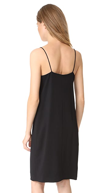 Vince V Neck Cami Dress