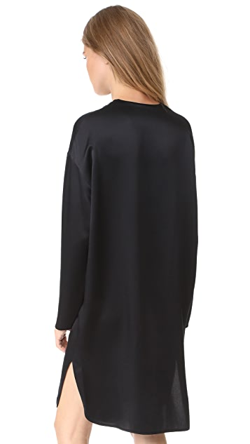 Vince V Neck Tunic Dress