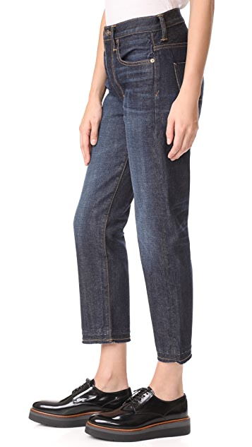 Vince Union Slouch Released Hem Jeans
