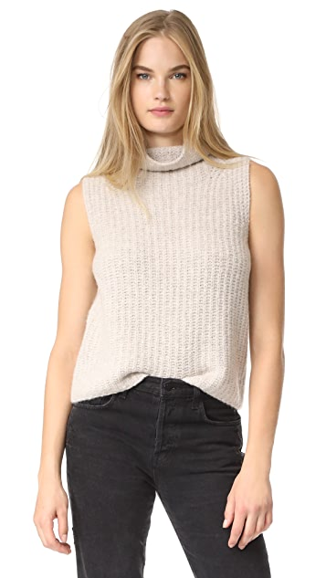 Vince Sleeveless Turtleneck