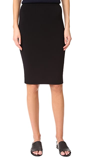 Vince Jersey Skirt