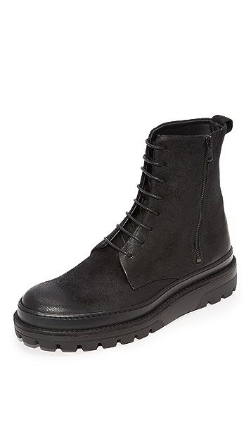 Vince Edgar Lace Boots
