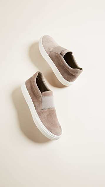 Vince Kirkland Platform Slip On Sneakers