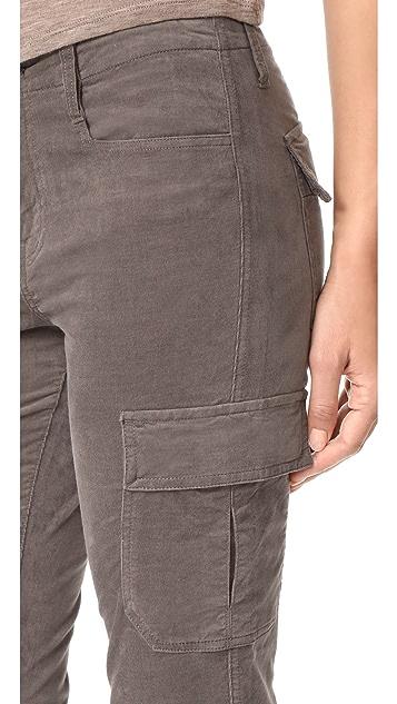 Vince Corduroy Skinny Cargo Pants
