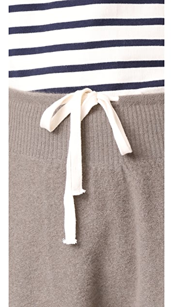 Vince Cropped Slouch Cashmere Sweatpants