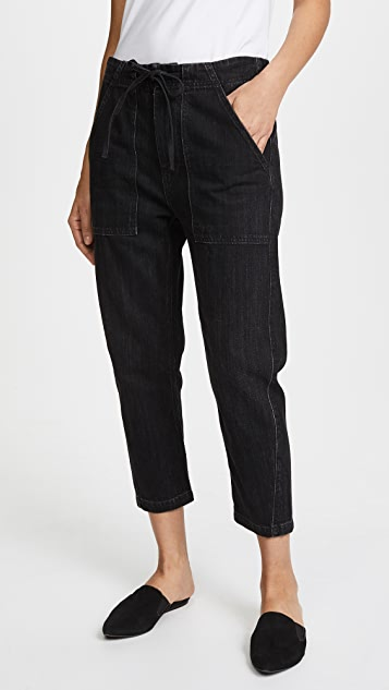 Vince Patch Front Utility Jeans
