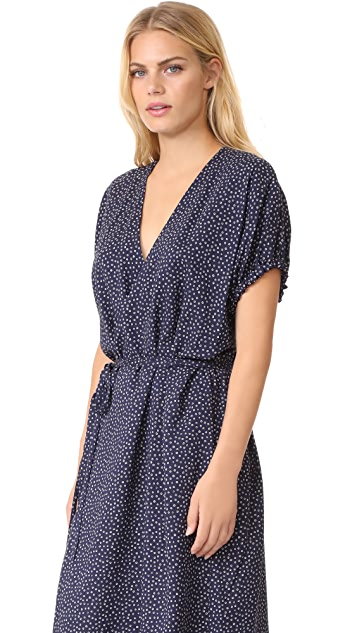 Vince Celestial Dot Wrap Dress