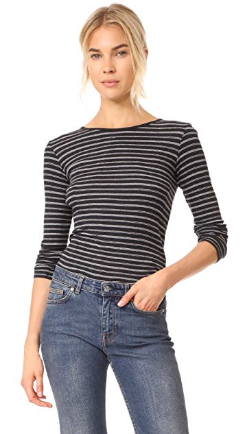 Vince Double Stripe Tee
