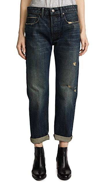 Vince Cuffed Union Slouch Jeans