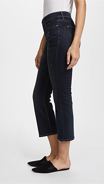 Vince 5 Pocket Crop Flare Jeans