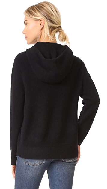 Vince Pullover Cashmere Hoodie
