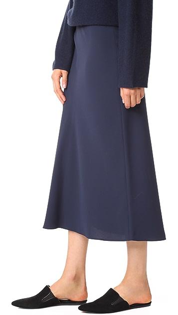 Vince Elastic Slip Skirt