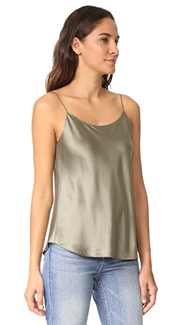 Vince Scallop Shirttail Cami
