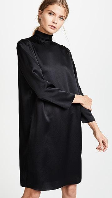 Vince Платье с воротником под горло