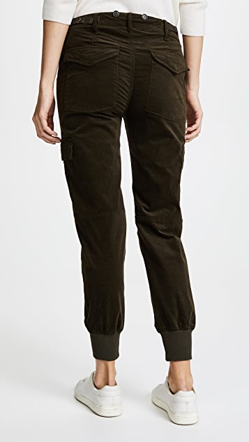 Vince Slouchy Corduroy Military Pants