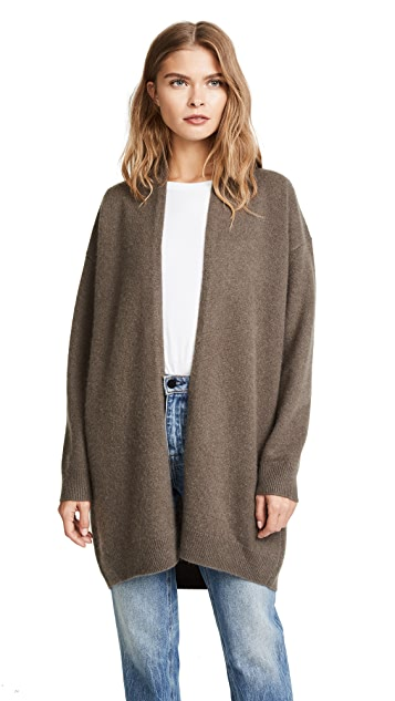 Vince Drop Shoulder Cashmere Cardigan