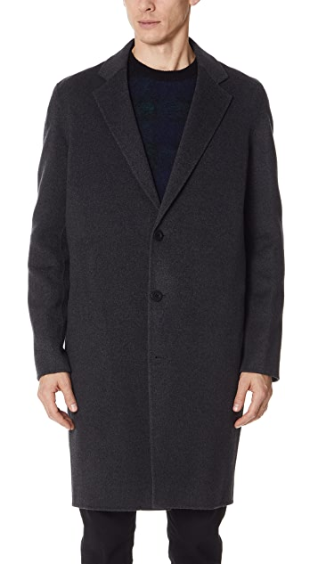 Vince Notch Lapel Coat