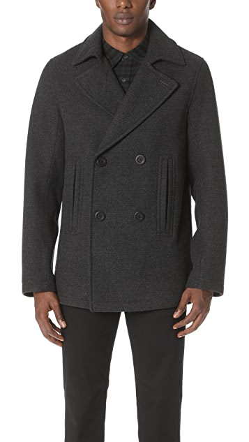 Vince Bonded Peacoat