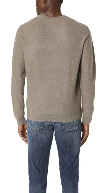Vince Oversized Crew Neck Sweater