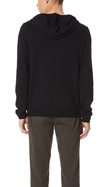 Vince Size Zip Pullover Hoodie
