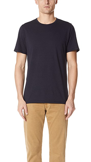 Vince Feeder Stripe Tee