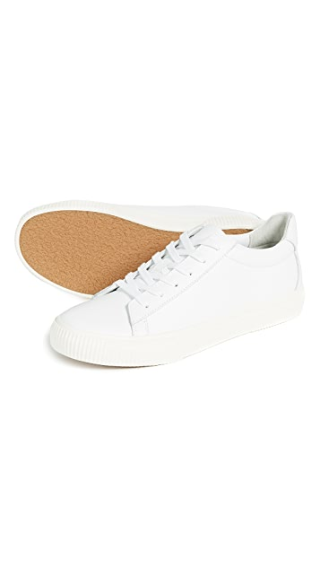 Vince Kurtis Leather Sneakers