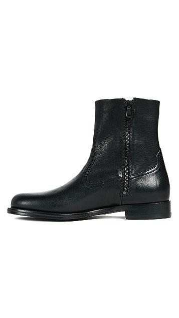 Vince Wayne Zip Boots