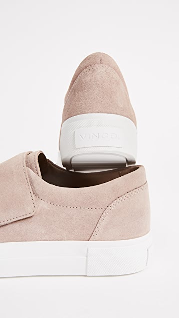 Vince Решетчатые кроссовки на платформе