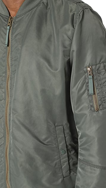 Vince Elongated Aviator Jacket