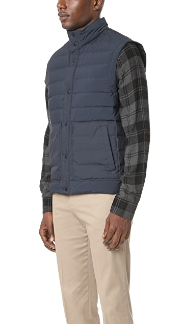 Vince Quilted Down Vest