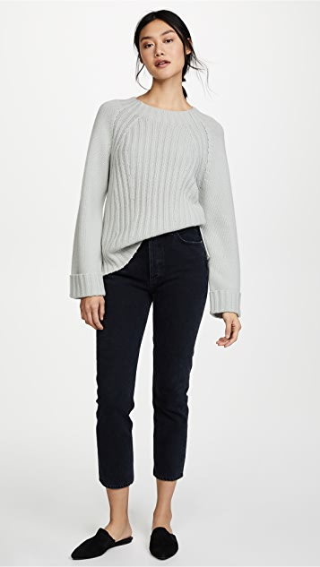Vince Ribbed Sweater