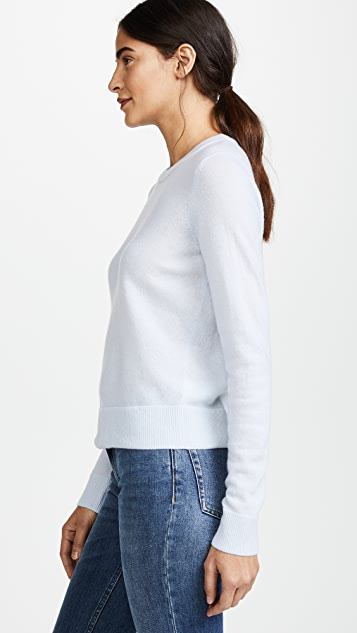 Vince Overlay Crew Sweater