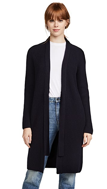 Vince Saddle Shoulder Cardigan