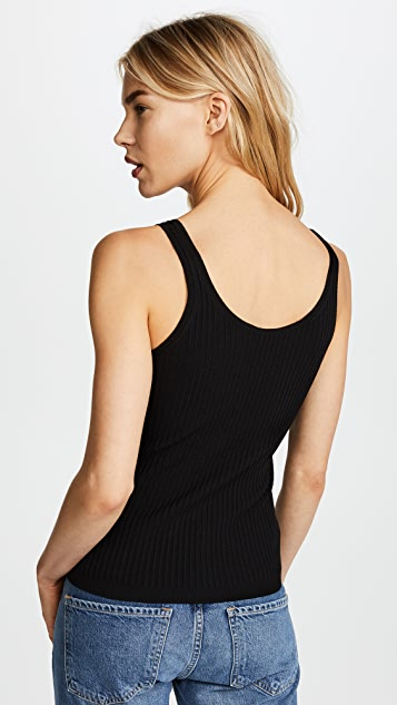 Vince Ribbed Tank