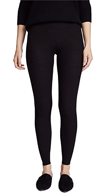 Vince Ribbed Leggings