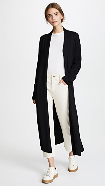 Vince Side Slit Cardigan