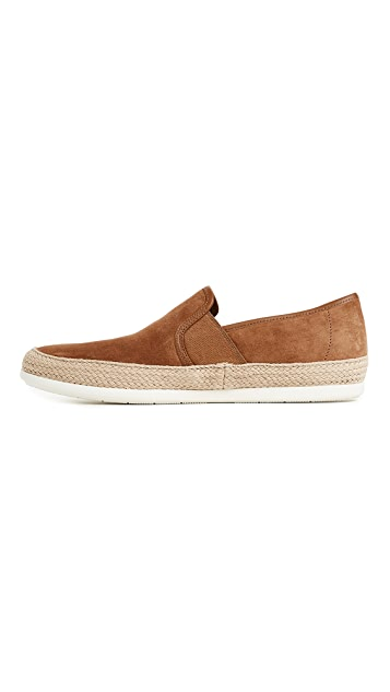 Vince Chad Sport Suede Slip Ons