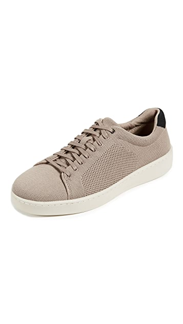 Vince Silos Knit Low Top Sneakers