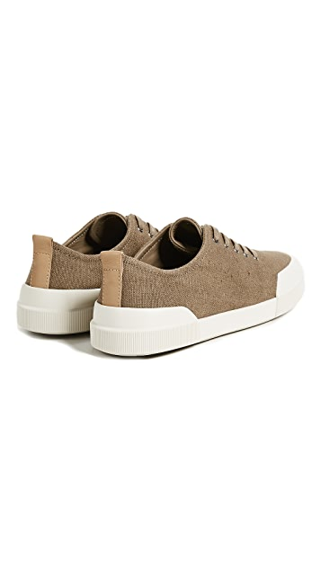 Vince Victor Canvas Low Top Sneakers