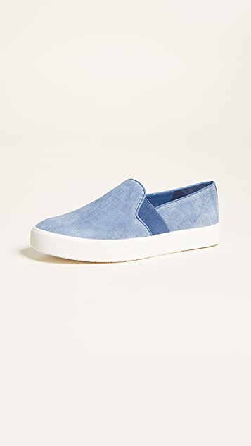 Vince Blair Slip On Sneakers - Indigo