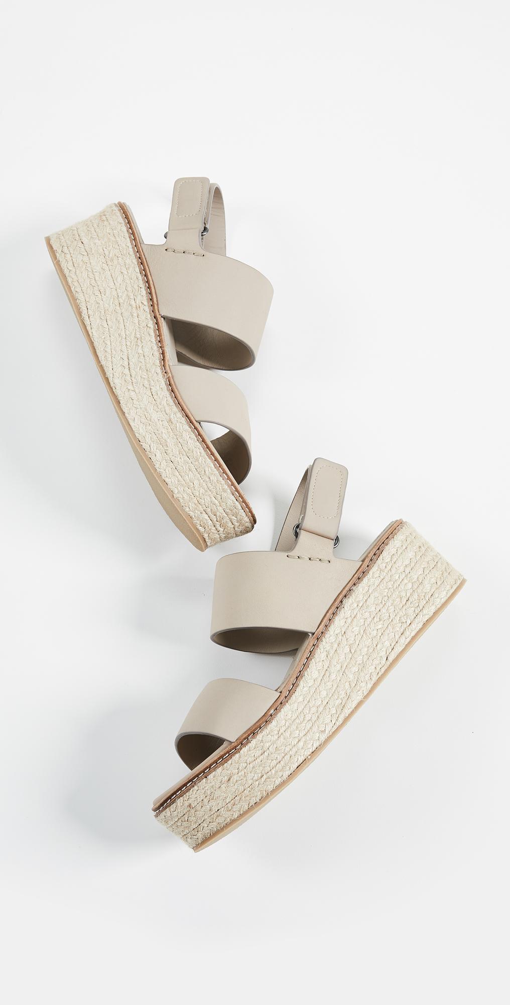 Vince Janet Wedge Sandals | SHOPBOP