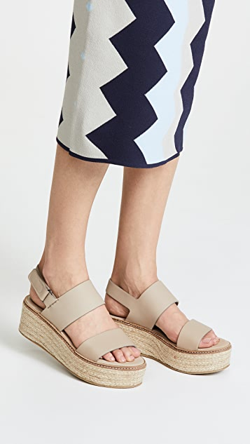 Vince Janet Wedge Sandals