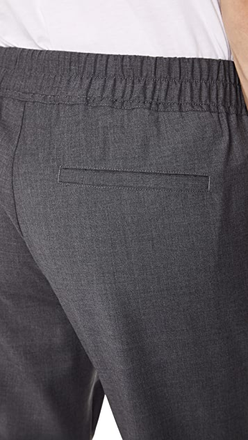 Vince Wool Track Trousers