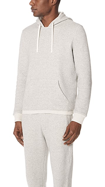 Vince Plush Pullover Hoodie