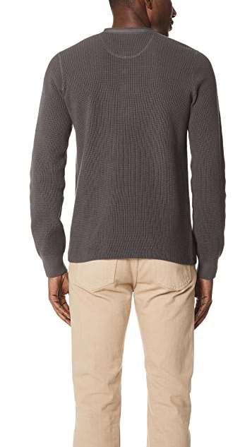 Vince Long Sleeve Thermal Henley