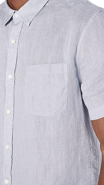 Vince Classic Fit Short Sleeve Shirt
