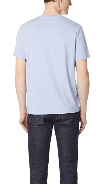 Vince Pima Cotton Crew Neck Tee