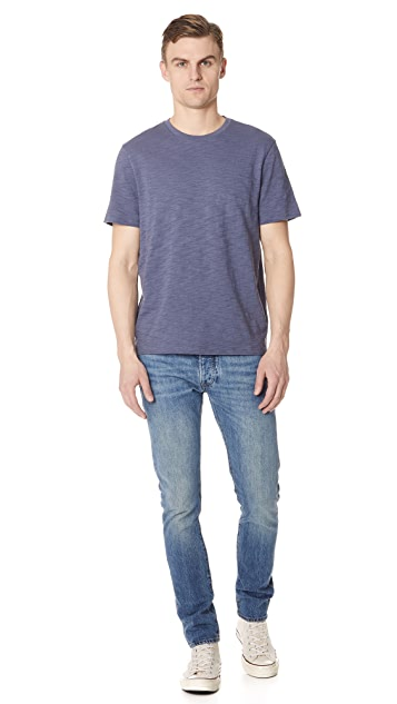 Vince Slub Cotton Knit Tee