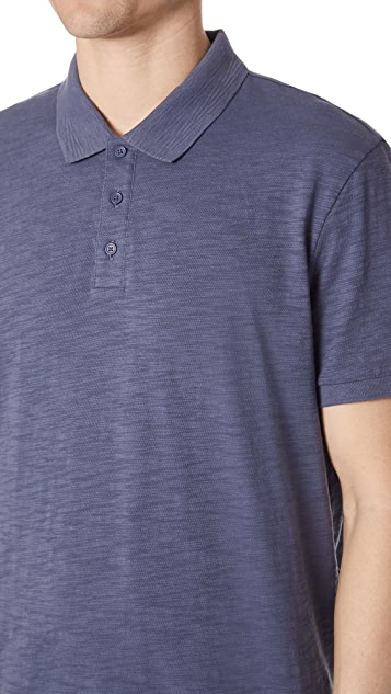 Vince Short Sleeve Classic Polo Shirt