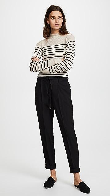 Vince Pleat Jogger Trousers